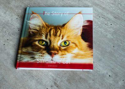 Voorleesboek Simon de kat