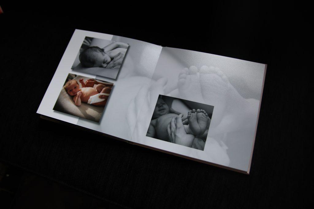 fotoboek baby